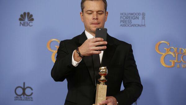 Matt Damon otrzymał Złoty Glob jako najlepszy aktor w filmie komediowym - Sputnik Polska