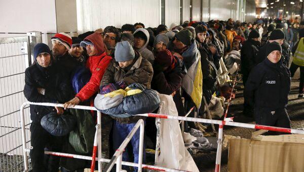 Migranci w Berlinie - Sputnik Polska