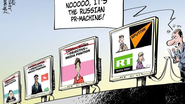 Walka z propagandą! - Sputnik Polska