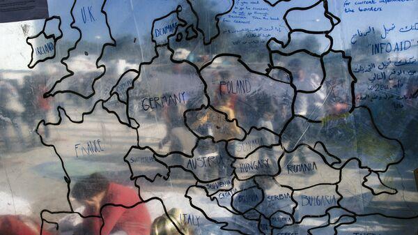 Kryzys migracyjny w UE - Sputnik Polska