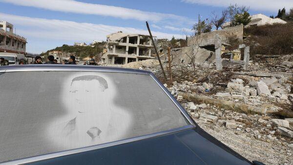 Konflikt w Syrii - Sputnik Polska
