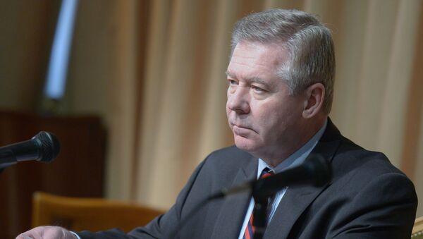 Wiceminister spraw zagranicznych Rosji Giennadij Gatiłow w Moskwie - Sputnik Polska