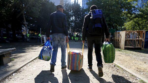 Migranci w Belgii - Sputnik Polska