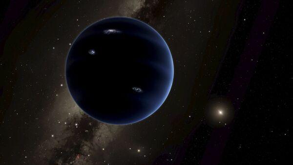Ilustracja przypuszczalnie nowej planety układu Słonecznego Planety 9 - Sputnik Polska