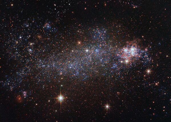 Galaktyka o nieregularnym kształcie NGC 5408 - Sputnik Polska