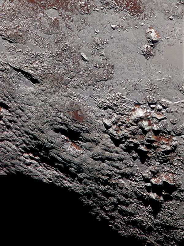 Erupcje kriowulkaniczne na powierzchni Plutona - Sputnik Polska