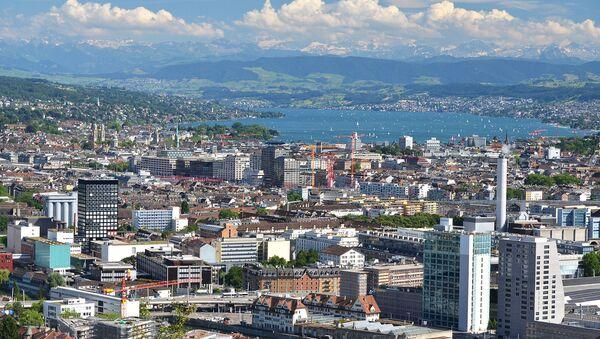 Widok na Zurich - Sputnik Polska
