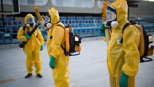 Zwalczanie komarów w Rio de Janeiro - Sputnik Polska