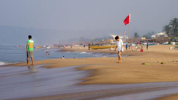 Beach - Goa, India - Sputnik Polska
