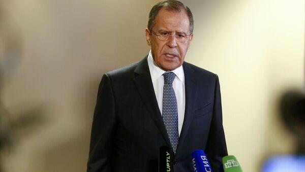 Minister spraw zagranicznych Siergiej Ławrow - Sputnik Polska