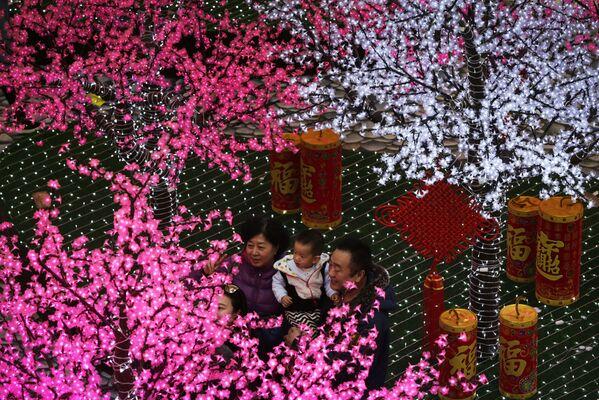 Przygotowanie do chińskiego nowego roku w Pekinie - Sputnik Polska
