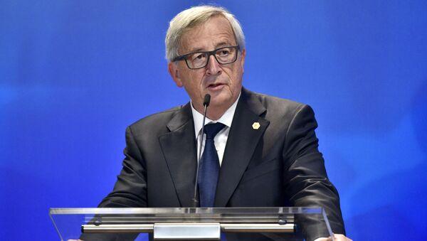 Szef Komisji Europejskiej Jean-Claude Juncker - Sputnik Polska