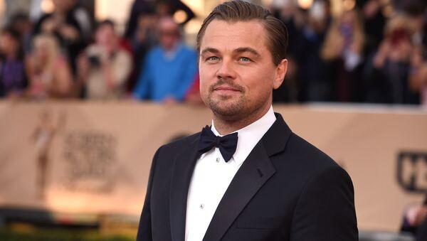 Leonardo DiCaprio na ceremonii wręczenia nagród Screen Actors Guild Awards w Los Angeles - Sputnik Polska