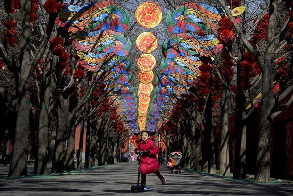 Przygotowania do Chińskiego Nowego Roku w Pekinie - Sputnik Polska