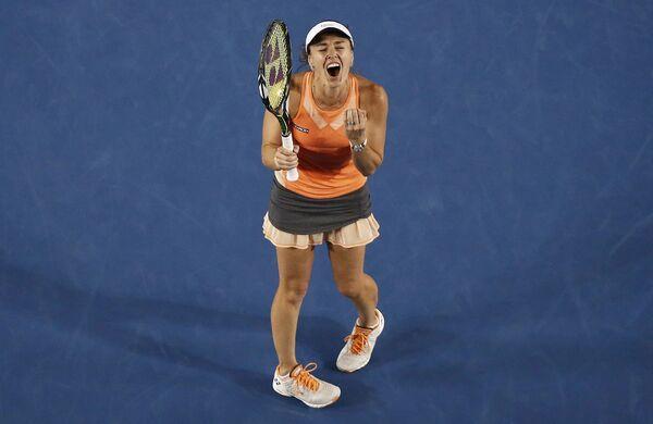 Szwajcarska tenisistka Martina Hingis podczas meczu w ramach Australian Open, Melbourne, Australia, 29 stycznia 2016 r. - Sputnik Polska