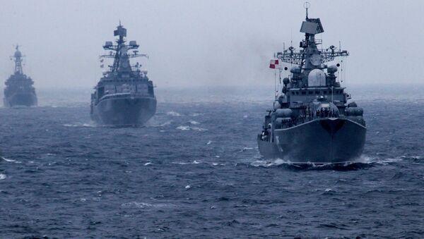 Flota Pacyficzna FR - Sputnik Polska