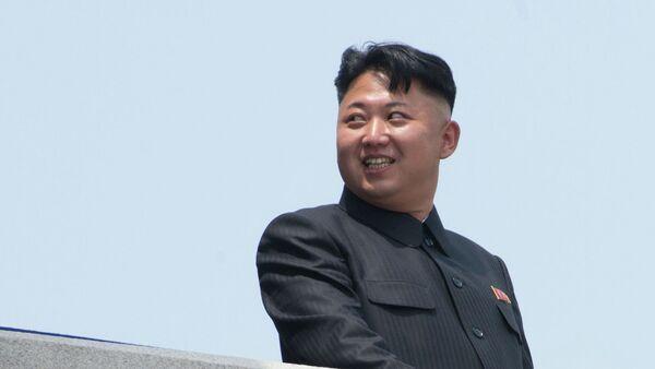 Lider KRLD Kim Dzong Un - Sputnik Polska