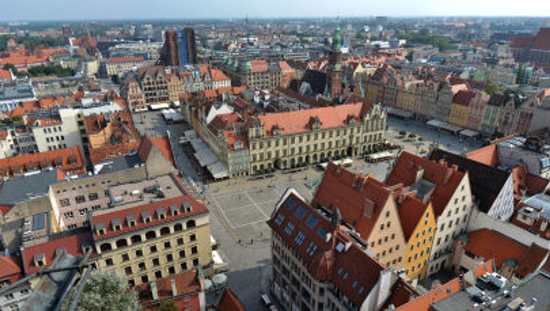 Panorama Wrocławia - Sputnik Polska, 1920, 03.03.2021