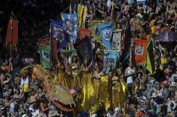 Na ulicach Rio de Janeiro odbędą się taneczne parady szkół samby - Sputnik Polska