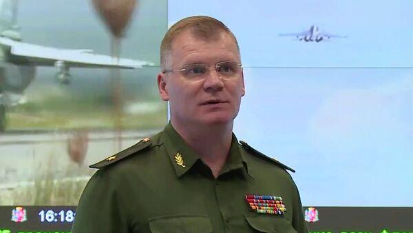 Rzecznik Ministerstwa Obrony Rosji gen. Igor Konaszenkow - Sputnik Polska