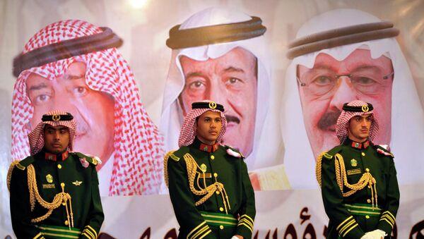 Portrety członków dynastii rządzącej Arabią Saudyjską - Sputnik Polska