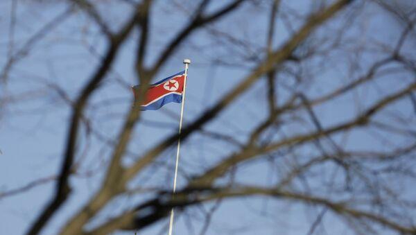 Flaga Korei Północnej - Sputnik Polska