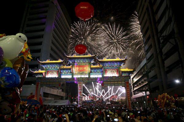 Nowy Rok w Manili, Filipiny - Sputnik Polska