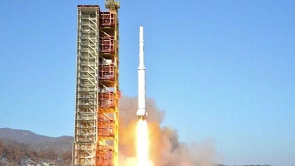 Korea Północna, wystrzelenie rakiety - Sputnik Polska