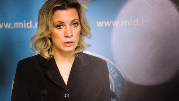 Rzeczniczka MSZ Rosji Maria Zacharowa - Sputnik Polska
