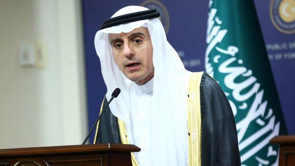 Szef saudyjskiego MSZ Adel Al-Dżubeir - Sputnik Polska