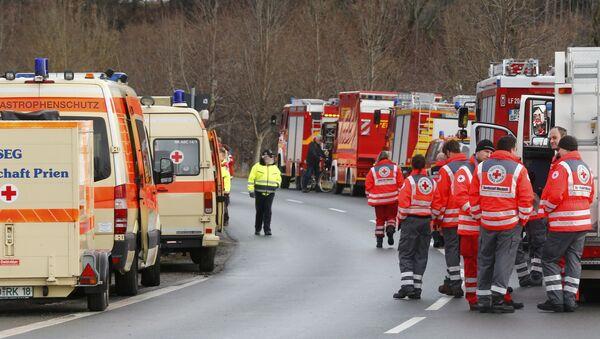 Katastrofa kolejowa w Oberbayern - Sputnik Polska