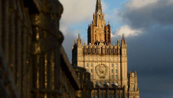 Budynek MSZ w Moskwie - Sputnik Polska