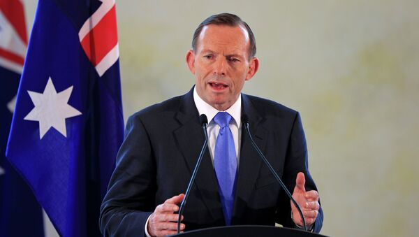 Premier Australii Tony Abbott - Sputnik Polska