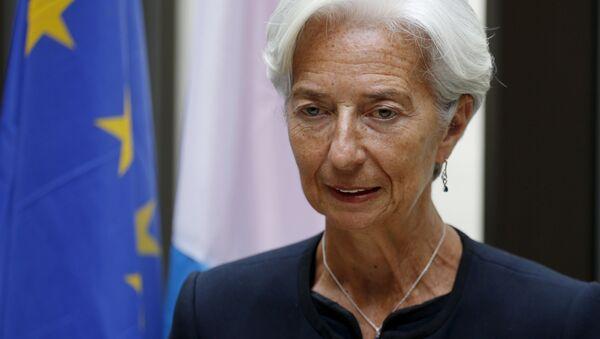 Dyrektor zarządzający Międzynarodowego Funduszu Walutowego (MFW) Christine Lagarde - Sputnik Polska