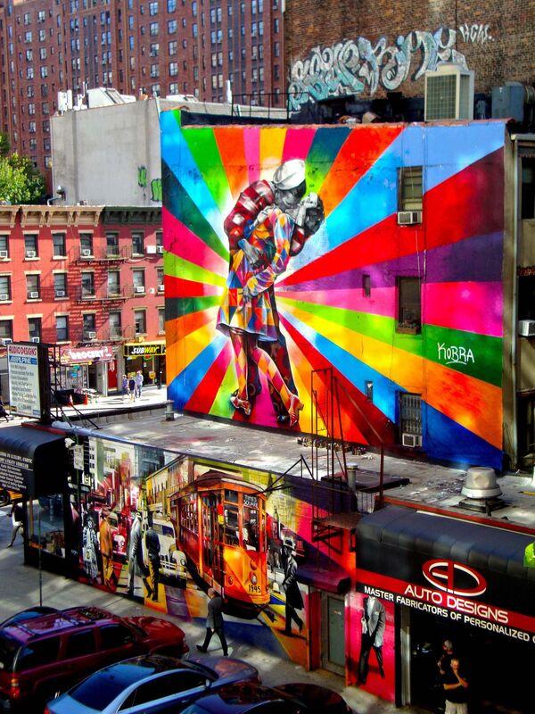 Pocałunek na Times Square - Sputnik Polska