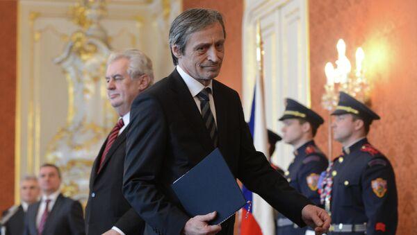 Minister obrony Czech Martin Stropnický - Sputnik Polska
