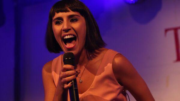 Piosenkarka Jamaal występująca na imprezie w Bosco Club - Sputnik Polska