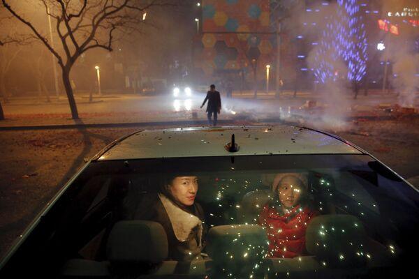 Obchody Chińskiego Nowego Roku w Pekinie - Sputnik Polska