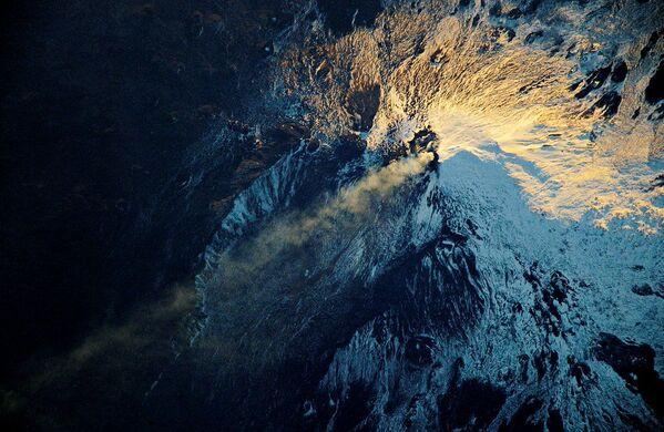 Widok z kosmosu na wulkan Etna - Sputnik Polska