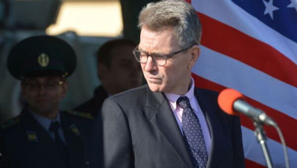 Ambasador USA na Ukrainie Geoffrey R. Pyatt - Sputnik Polska
