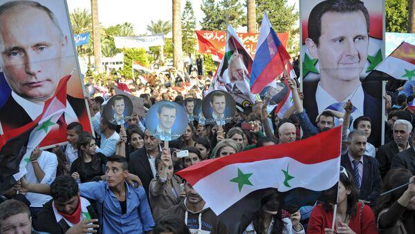 Poparcie dla rosyjskiej operacji w Syrii - Sputnik Polska