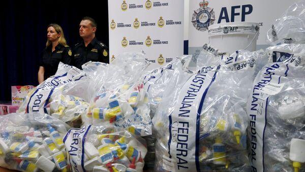 Skonfiskowana partia narkotyków w Australii - Sputnik Polska