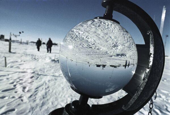Rosyjska całoroczna stacja polarna Wostok - Sputnik Polska