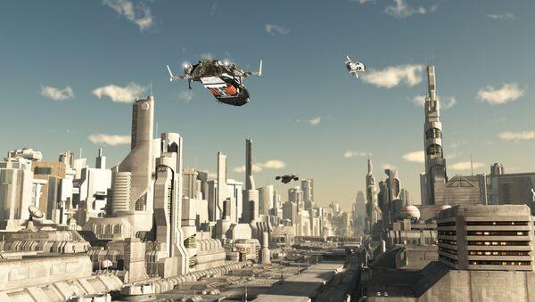 Model miasta przyszłości - Sputnik Polska