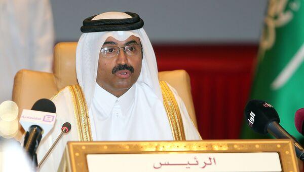 Minister energetyki Kataru Mohammad bin Saleh al-Sada - Sputnik Polska