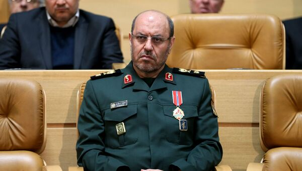 Szef Ministerstwa Obrony Iranu Hossein Dehghan - Sputnik Polska