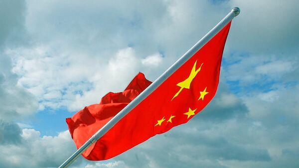 Chińska flaga - Sputnik Polska