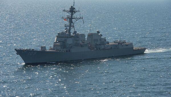 USS Jason Dunham na Morzu Czarnym - Sputnik Polska