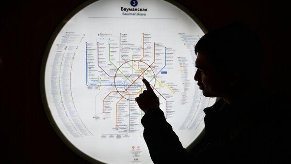 Schemat moskiewskiego metra - Sputnik Polska