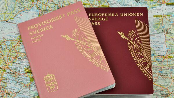 Szwedzki paszport - Sputnik Polska